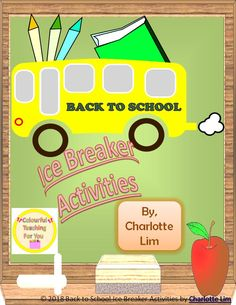 This package combines both the Back to School Drawing and Coloring Pages and the Back to School Ice Breaker Back To School Activities, School Resources, Teacher Resources, Art Teachers, School Ideas, Classroom Resources, Learning Resources, Classroom Ideas, Secondary Resources