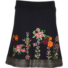 Designer Clothes, Shoes & Bags for Women Fashion Beauty, Polyvore, Mini Skirts, Embroidery, Shoe Bag, Stuff To Buy, Inspiration, Shopping, Collection