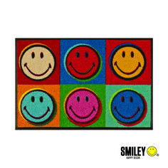 """smiley rug - """"smiles all over"""" style.  Give a smile to your kids!"""
