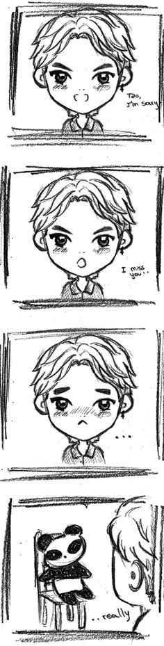 Kris fanart T_T WHY WOULD YOU DO THAT???