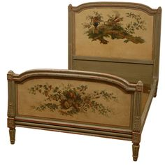 French painted bed c.1760 Louis XV | 1stdibs.com