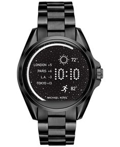 You'll love the dark dramatic look of this feature-filled smartwatch from…