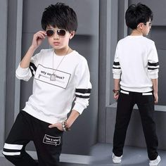 Sport Clothes Children Spring 2-pc Clothes Set Kids – Trending Accessories China National Day, Sport Outfits, Kids Outfits, Cocktail Wear, Cheap Clothes Online, Outfit Sets, Winter Jackets, Graphic Sweatshirt, Celebrities