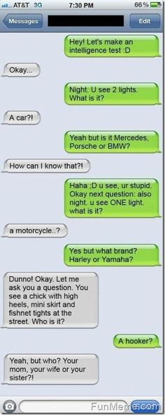 LOL! Funny Text Conversation