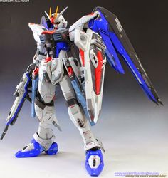 "Custom Build: 1/60 ZGMF-X10A Freedom Gundam ""Perfect Grade details"" - Gundam Kits Collection News and Reviews"