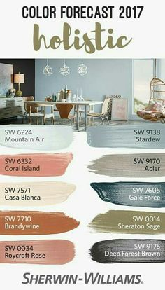 palettes from our 2017 Color Forecast. Inspired by the intersection of luxury goods and fair trade goodness, this palette relies on arctic neutrals, blush roses and wild browns like Coral Island SW Brandywine SW 7710 and Stardew SW Paint Schemes, Colour Schemes, Color Trends, Color Palettes, Paint Palettes, Rose Gold Color Palette, Cool Color Palette, Color Combos, Interior Paint Colors