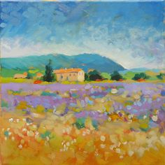 How to paint like Monet: Acrylic Landscape Painting Lesson – Part 4 (Video)