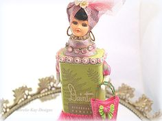Danity Girl Art Doll Assemblage Sugar Sweet by loreliekaydesigns