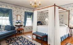 Beautiful bedroom at Martin Hill Inn - Portsmouth, NH