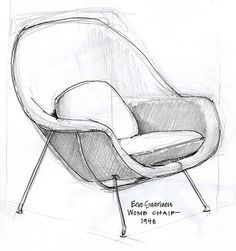 an open [sketch]book: goldilocks and the designer chairs
