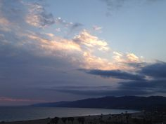 #SantaMonica #Sunset  -  May 22, 2014