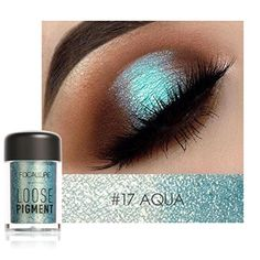 FOCALLURE Makeup Set Eyeshadow powder with Eyeliner Glitter and shimmer Eye shadow shade for Eye make up cosmetic Metallic Eyeshadow Palette, Pigment Eyeshadow, Glitter Eyeshadow, Eyeshadow Makeup, Makeup Cosmetics, Makeup Palette, Makeup Brushes, Glitter Eyebrows, Glitter Makeup