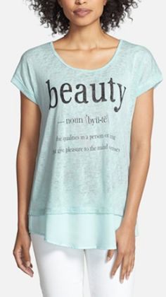 'beauty' shirt that every woman needs http://rstyle.me/n/nq3fir9te