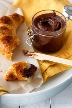nutella domowa croissant
