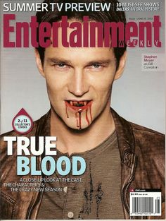 Entertainment Weekly, Stephen Moyer, True Blood, #2 of 11, June 2012 ~NEW