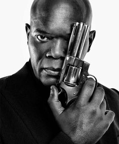 Samuel L. Jackson | by Marco Grob - one eye symbolism