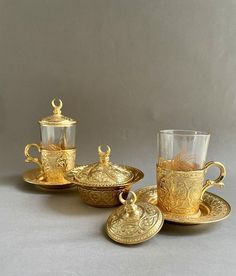 Coffee Gift Sets, Coffee Gifts, Gold Cup, Cold Drinks, Candle Holders, Candles, Glass, Cool Drinks, Drinkware