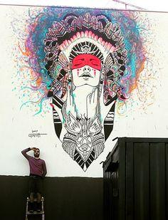 Lucas Cassarotti street art