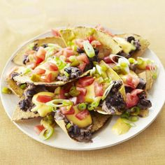 Healthy Nachos Supreme #Recipe. Check out facebook.com/hearstspecials for even more great recipes!