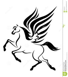 Pegasus Horse Royalty Free Stock Photos - Image: 25622658