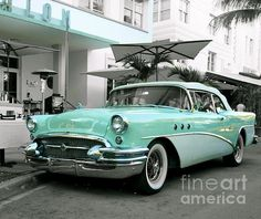 1955 Buick Special. Obsession with the oldies is Michael's quest