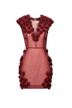 Love the rosette embellishment