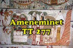 Ameneminet, Imeneminet, TT 277 ; TT277 ; Louxor ; Thebes ; tombe Egypte (1)
