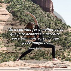 """""""Se a sua vida for a melhor coisa que já te aconteceu, acredite, você tem  mais sorte do que pode imaginar."""" (Daniel Godri)  NA BOA, PRA QUE PERDER TEMPO... Invista Seu Tempo Naquilo Que Realmente Funciona: ➡ https://SegredoDefinicaoMuscular.com/ #boanoite #goodnight #motivação #motivated #motivation #motivate #ComoDefinirCorpo"""