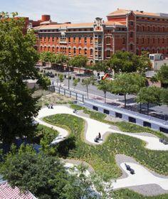 Arquitectura y Paisaje: Jardín para Residencia de ancianos La Paz por Caballero + Colón de Carvajal