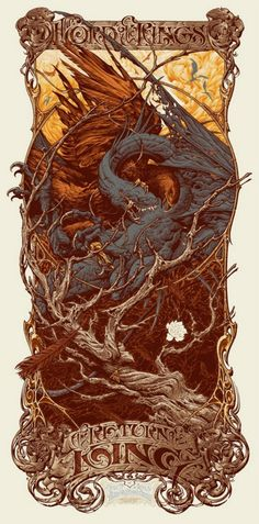 Lord of the Rings. This would make a nice t-shirt and tattoo design.