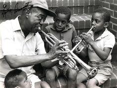 Louis Armstrong in Neighborhood Corona Queens