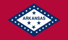 Outdoor Décor-Americas Flag Company SF3X5NOAR1 3Foot by 5Foot Nylon Arkansas State Flag with Canvas Header and Grommets ** To view further for this item, visit the image link.