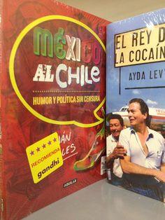 @LibreriasGandhi recomienda @MexicoAlChile1 en cambio @SoloSanborns lo tiene descontinuado...