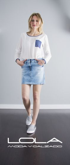 Ya no hay excusa, el calor te pide falda.  Pincha este enlace para comprar tu falda en nuestra tienda on line:  http://lolamodaycalzado.es/primavera-verano/597-falda-vaquera-push-up-salsa.html