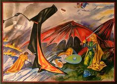 Medieval Tokien style pictures. Very awesome! http://io9.com/these-medieval-style-tolkien-illustrations-are-like-not-1585380478