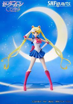 Official Bandai Tamashii Nations S.H. Figuarts Sailor Moon Crystal figure! Buy…