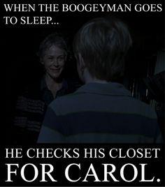 Carol kicks ass!!