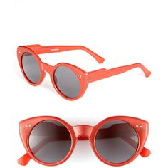 Spitfire Retro Sunglasses (195 UAH) ❤ liked on Polyvore featuring accessories, eyewear, sunglasses, acetate sunglasses, round acetate sunglasses, round glasses, round sunglasses and retro sunglasses