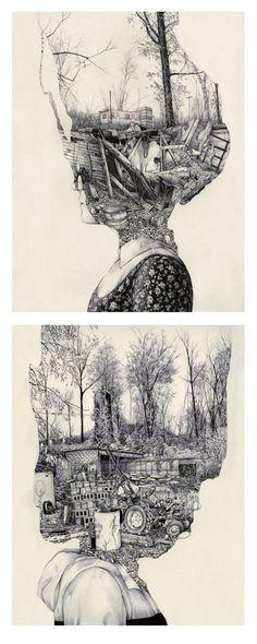Art inspiration and artwork by pat perry # Art Drawings Simple, Sketches, Surreal Art, Illustration, Amazing Art, Art Drawings Sketches, Drawing Sketches, Art, Memory Artwork