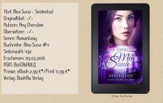 """""""Mea Suna - Seelentod"""" ist der letzte Band und ein grandioser Abschluss der Reihe. Er überzeugt mit Spannung, starken Charakteren, einer wunderbaren Story, Emotionen und einem lebhaften Schreibstil. Einmal """"Mea Suna"""" immer """"Mea Suna"""". ~ atemberaubend ~ mitfiebernd ~ gefühlvoll ~ Eine absolute Leseempfehlung!"""