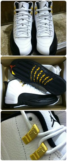 "#ReleaseReport: Get a detailed look at the Jordan Retro 12 ""Taxi"". Available Dec. 14th at #Eastbay"