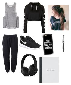"""Lazy day with Yoongi and making music 😍😴🎼🎹🎤"" by bts4ever02 ❤ liked on Polyvore featuring adidas Originals, Topshop, NIKE, Casetify, Beats by Dr. Dre and Montblanc"