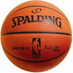 Spalding Official Size NBA Leather Game Basketball