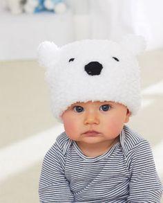 76ddc6789bce 56 meilleures images du tableau bonnet bebe tricot   Baby knitting ...
