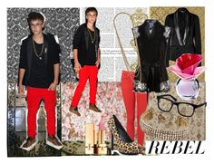 Style Bieber by pxolx on Polyvore featuring polyvore fashion style Galliano Oscar de la Renta TIBI Rock & Republic Miriam Haskell Topshop Christopher Kane Hermione de Paula Yves Saint Laurent Justin Bieber Crate and Barrel clothing perfume someday justin bieber