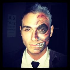two face makeup - Google Search