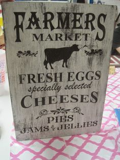 Decorated Chaos: DIY Farmhouse Kitchen Sign