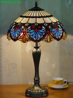 Baroque Tiffany Lamp	16S6-36T246