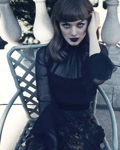 Bella Heathcote photographed by Beau Grealy for GQ Australia December 2012. Makeup by Fiona Stiles.