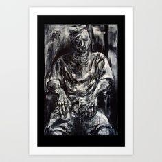 John Art Print by Yousef Balat @ Hoop Snake Graphics LLC - $17.00